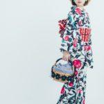 Ayane Yamazaki Antique Kimono Ponia-pon 2019 model